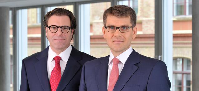 Dr. Christoph Hamma und Dr. Andreas Priefler