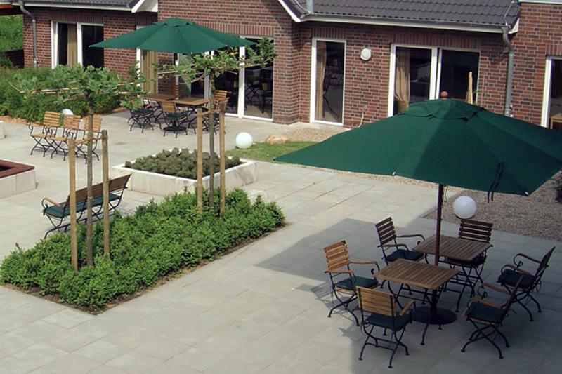 Wohnpark am Deich Garten Demenz